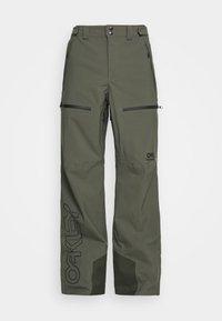 Oakley - LINED SHELL PANT - Snow pants - new dark brush - 0