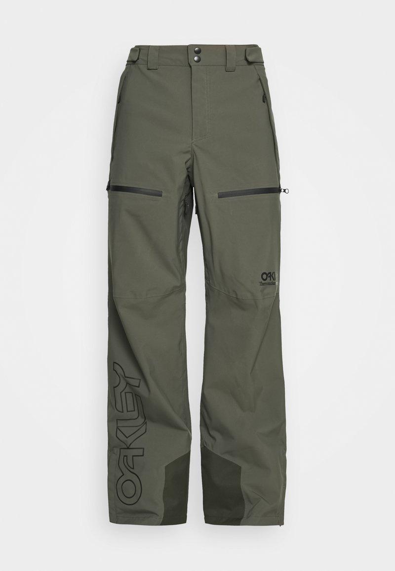 Oakley - LINED SHELL PANT - Snow pants - new dark brush