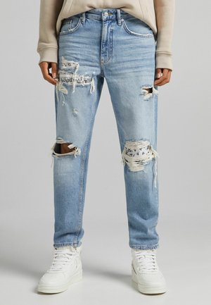 STRAIGHT - Jeans relaxed fit - blue denim