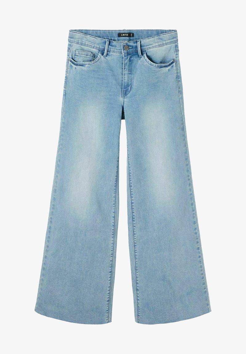 LMTD - Flared Jeans - light blue denim