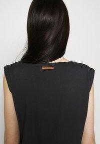 Ragwear - MASCARPONE - Denní šaty - black - 3