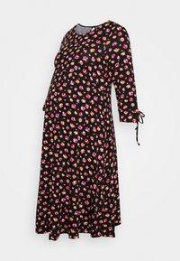Dorothy Perkins Maternity - DRESS - Vestido ligero - black/pink - 0