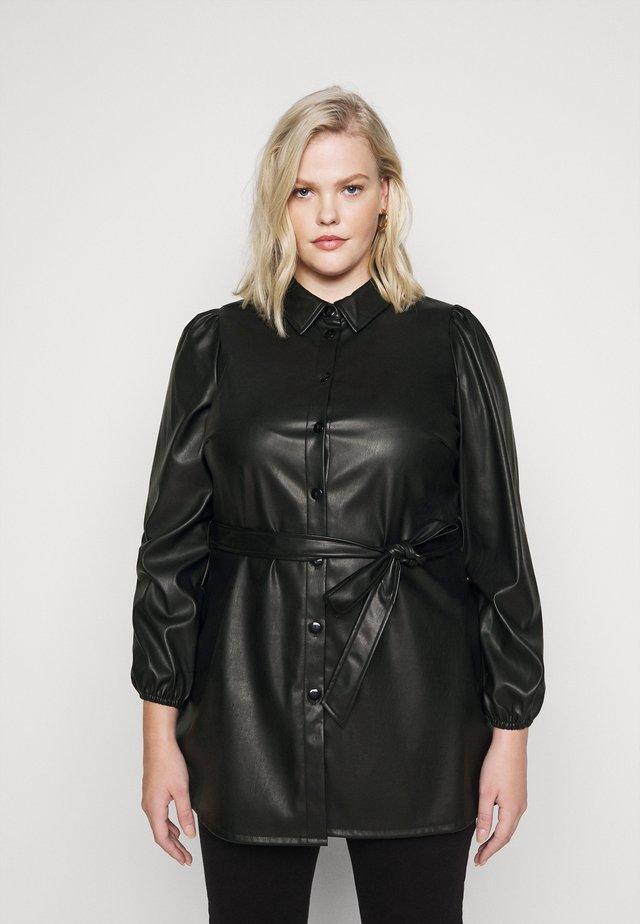 VMKAKCA LS LONG SHIRT CURVE - Day dress - black
