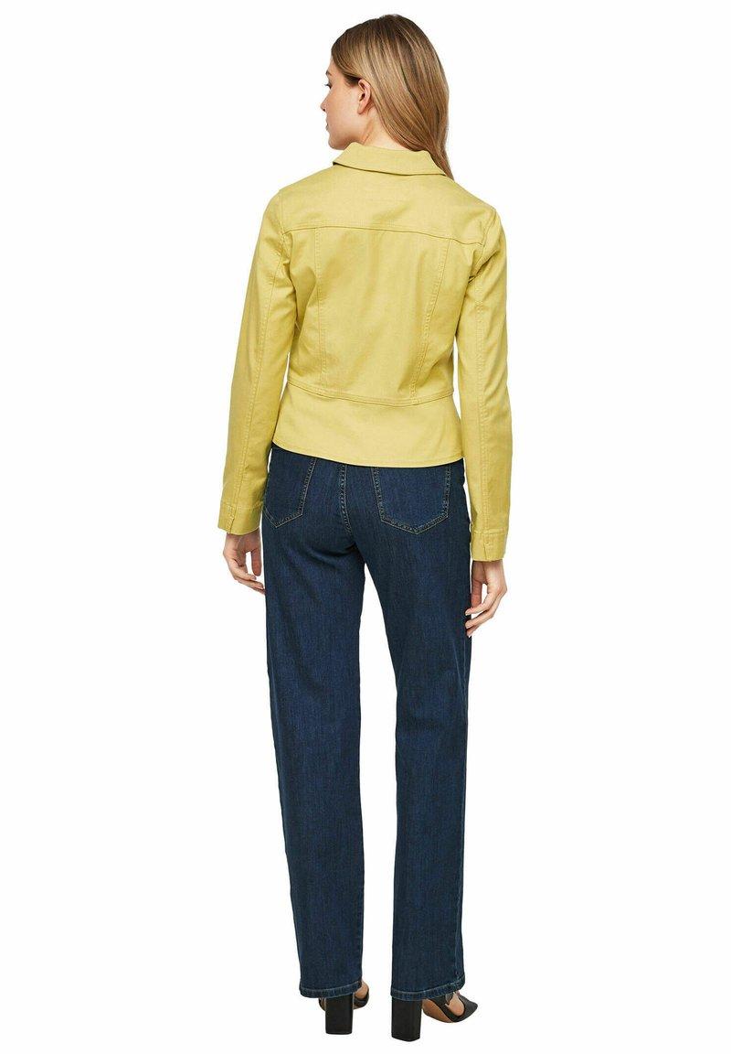 comma - Denim jacket - gelb