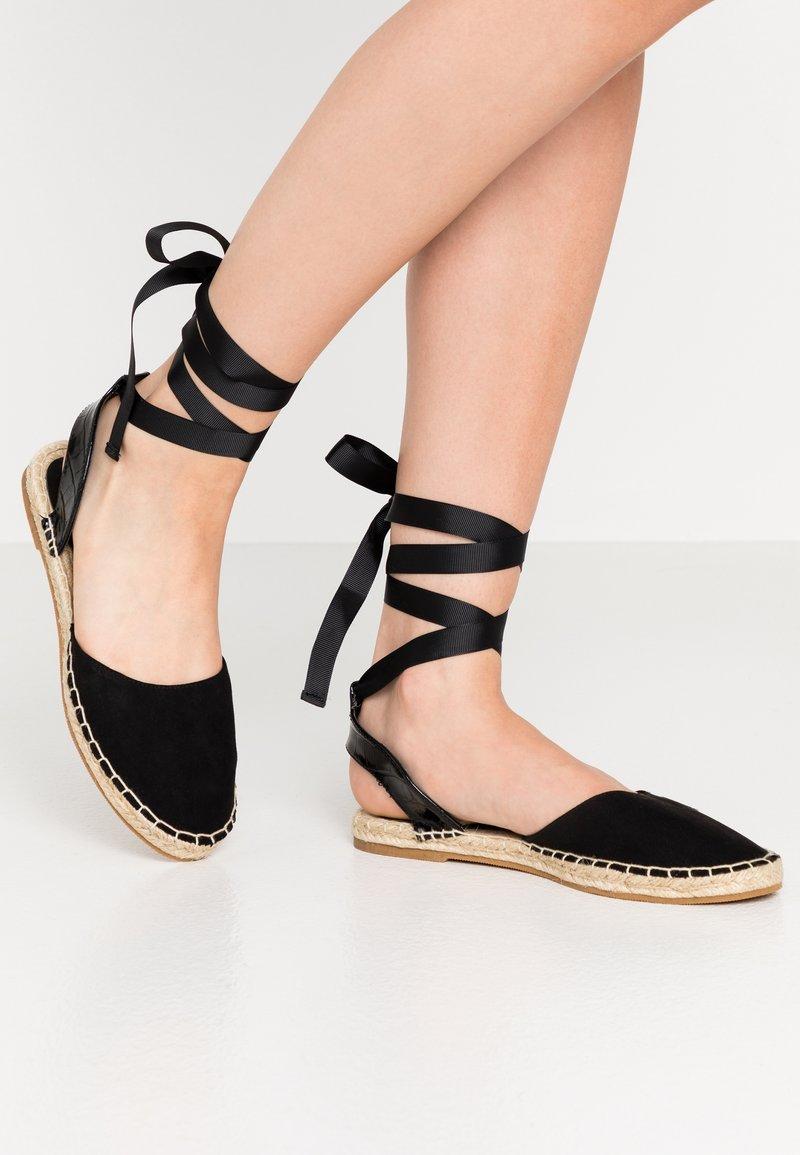Miss Selfridge - LIBRA  - Loafers - black