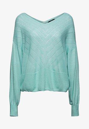 Jumper - light turquoise
