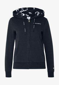 Champion - HOODED FULL ZIP - Hettejakke - dark blue - 4