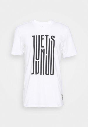 JUVENTUS FOOTBALL SHORT SLEEVE GRAPHIC TEE - Klubové oblečení - white/black