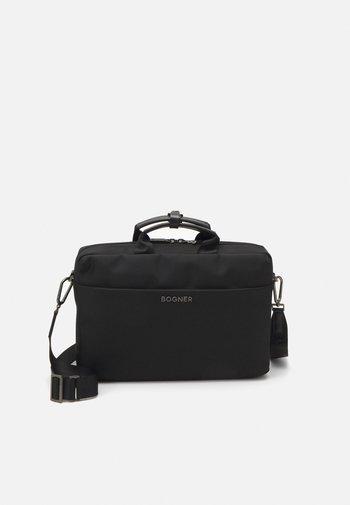KEYSTONE MATTIS BRIEFBAG UNISEX - Briefcase - black