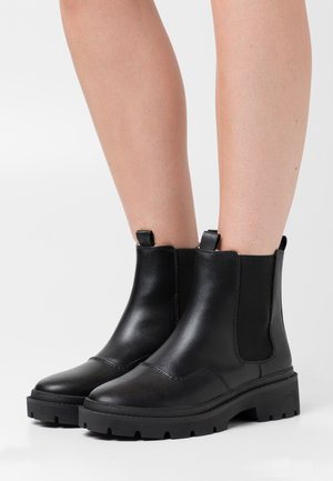 WARM CHELSEA BOOT - Platåstøvletter - black