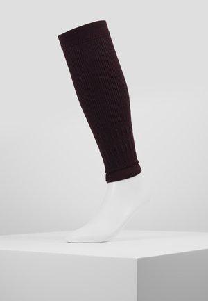 FREE STYLE - Leg warmers - burgundy