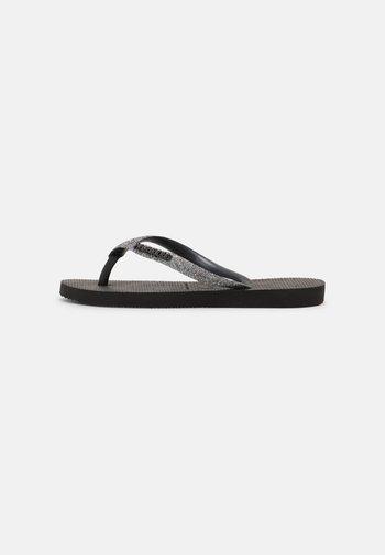 Pool shoes - black/dark grey