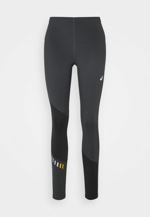 LITE-SHOW WINTER - Legginsy - graphite grey/mustard seed