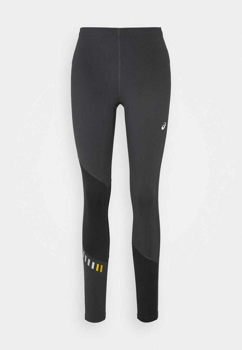 ASICS - LITE-SHOW WINTER - Leggings - graphite grey/mustard seed