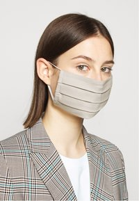 Zign - 3 PACK - Stoffmaske - blue/taupe/turquoise - 1