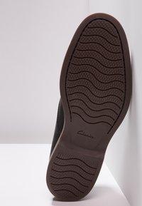 Clarks - ATTICUS LACE - Smart lace-ups - black - 4
