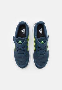 adidas Performance - DURAMO SL UNISEX - Sports shoes - crew navy/solar yellow/halo silver - 3