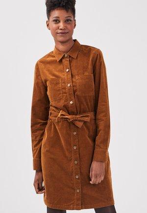 BONOBO  - Denim dress - marron