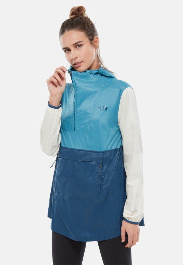 WOMENS FANORAK - Veste coupe-vent - blue