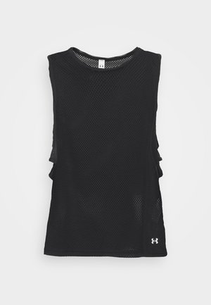 MUSCLE TANK - T-shirt de sport - black