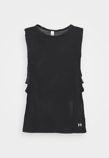 MUSCLE TANK - Sports shirt - black
