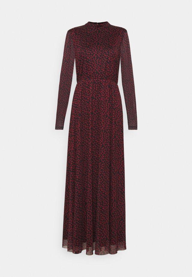 Maxi dress - black/red