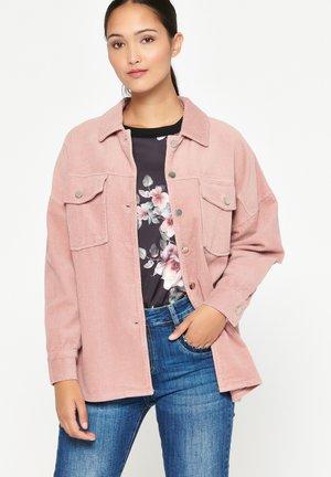 Overhemdblouse - nude pink