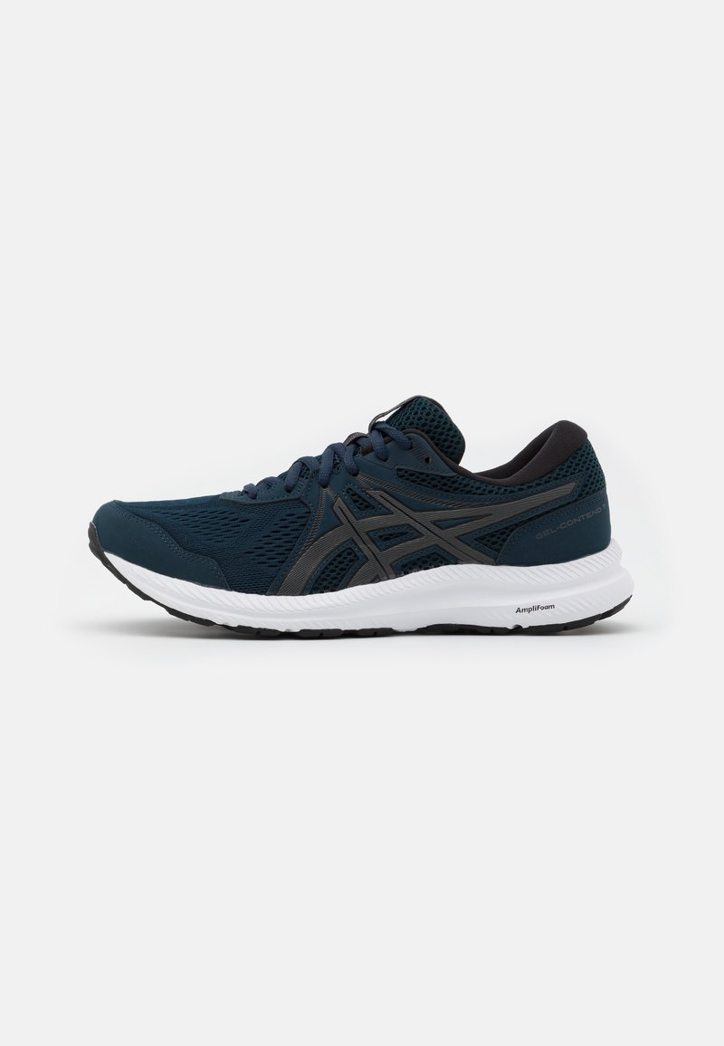 ASICS - GEL CONTEND 7 - Neutral running shoes - french blue/gunmetal