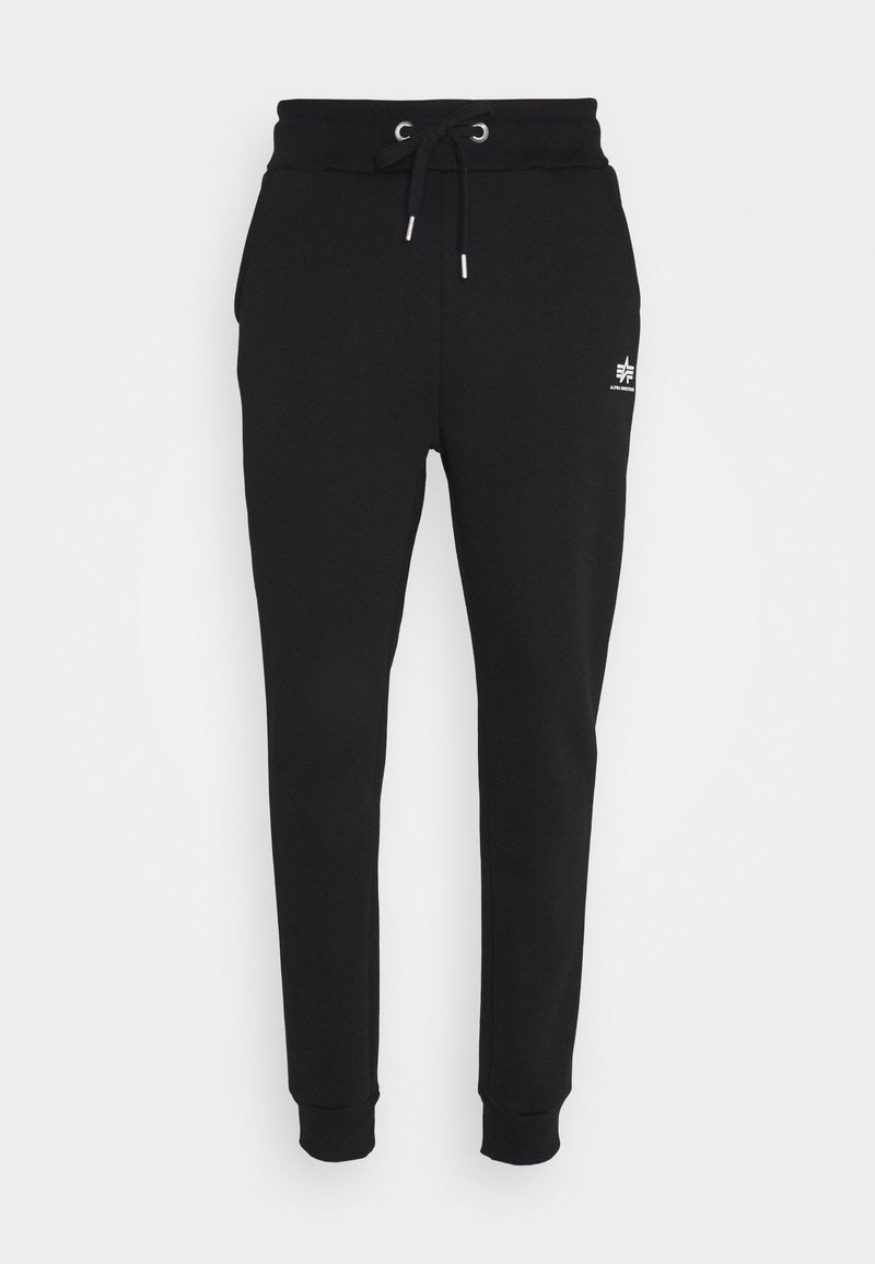 Alpha Industries - BASIC - Tracksuit bottoms - black