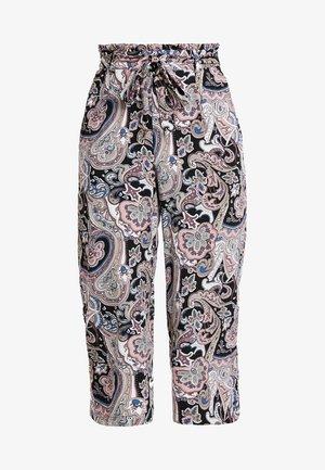ONLNOVA CROPPED PALAZZO PANT  - Kalhoty - black