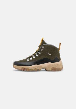 DANDRE - Sneakers hoog - ivy green/black