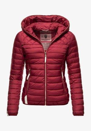ICH BIN HÜBSCH - Light jacket - bordeaux