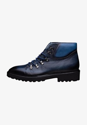 Veterboots - blauw