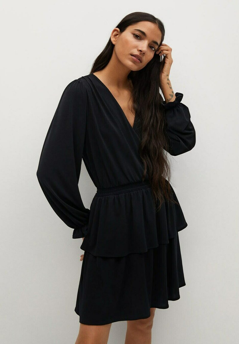 Mango - MOSS8 - Denní šaty - noir