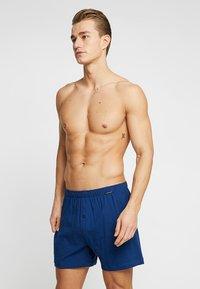 Schiesser - 2 PACK - Boxer shorts - blau - 1