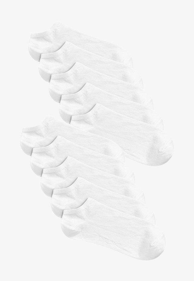 10 PACK - Ponožky - white