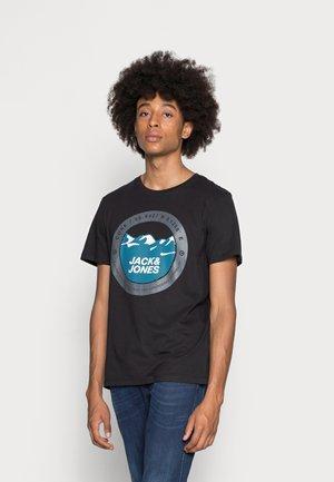 JCOBILO - T-shirt con stampa - black