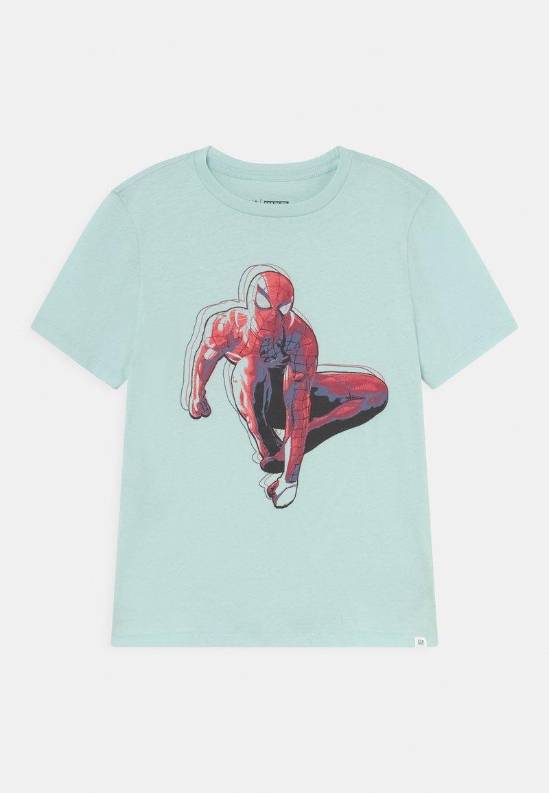 GAP - BOYS TEE - Print T-shirt - azul