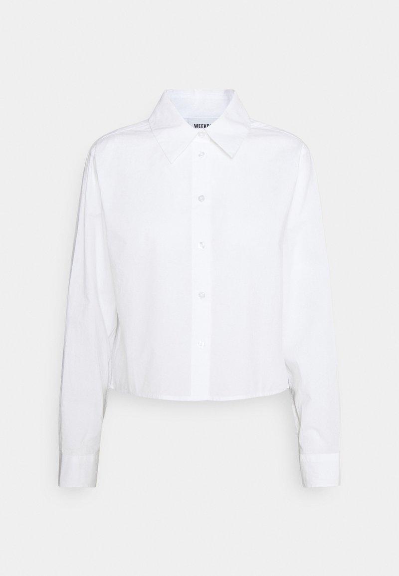 Weekday - GWEN  - Overhemdblouse - white