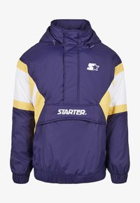 Starter - Winter jacket - starter purple/wht/buff yellow - 6