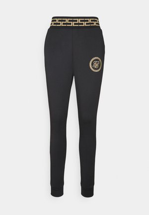 LUXURY TRACK PANTS - Leggings - black