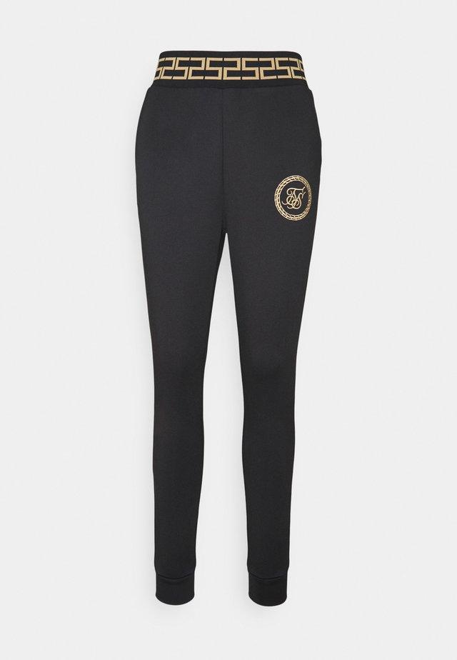 LUXURY TRACK PANTS - Leggings - Trousers - black