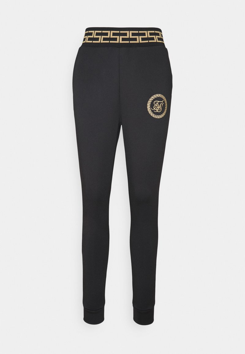 SIKSILK - LUXURY TRACK PANTS - Leggings - Trousers - black