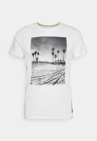 Blend - TEE - T-shirt print - snow white - 0