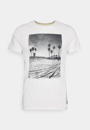 TEE - T-shirt z nadrukiem - snow white