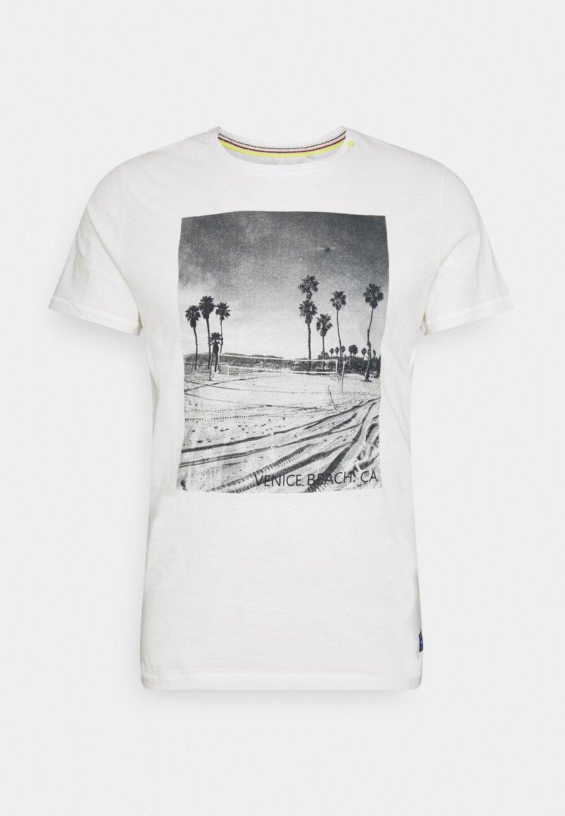 Blend - TEE - T-shirt print - snow white