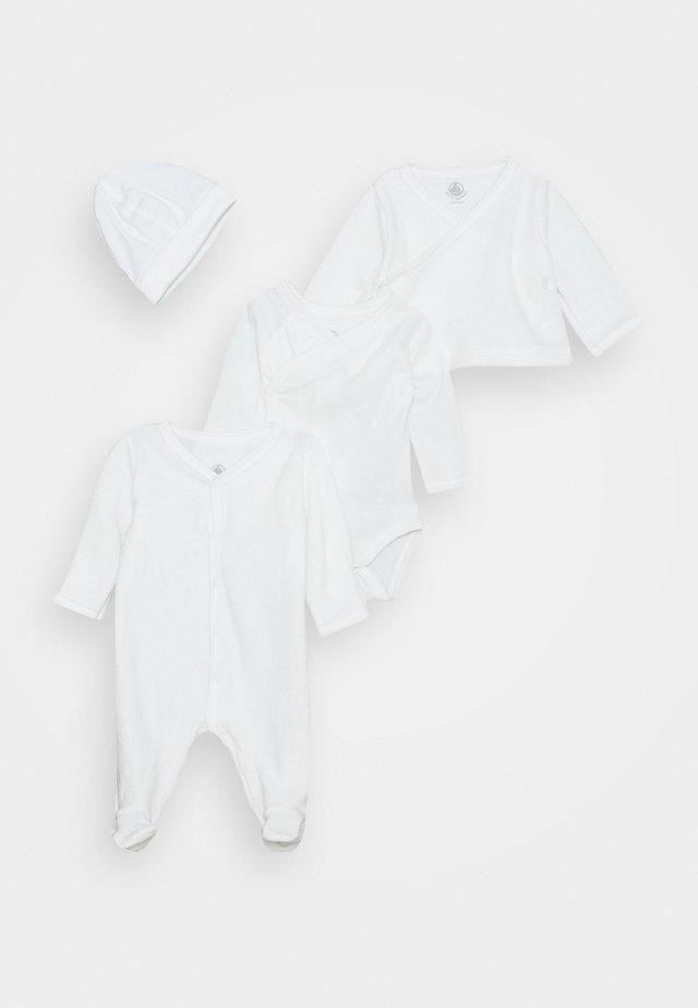 BABY TROUSSEAU SET UNISEX - Bonnet - white