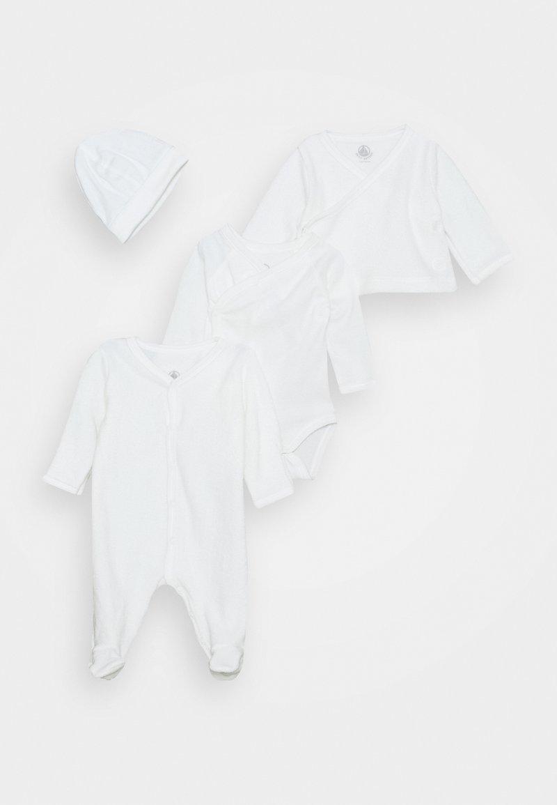 Petit Bateau - BABY TROUSSEAU SET UNISEX - Beanie - white