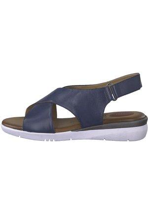 JANA - Walking sandals - navy