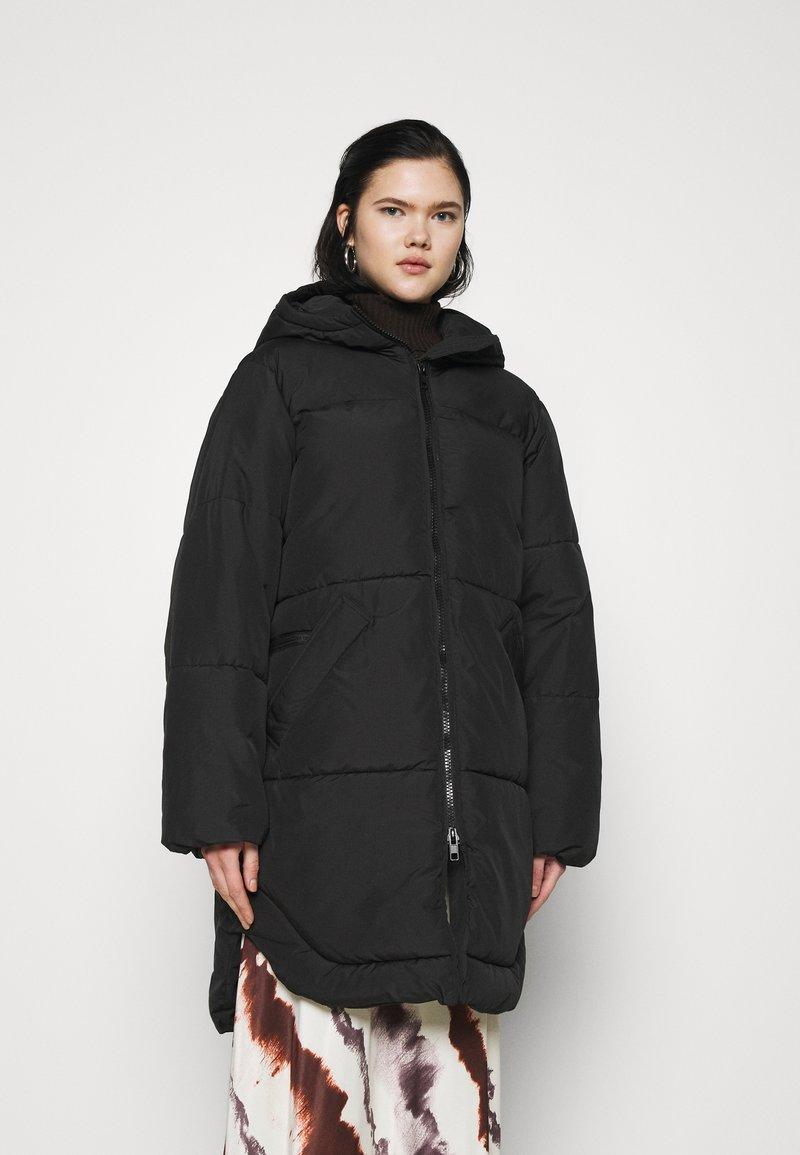 Weekday - RUT PUFFER JACKET - Winter coat - black